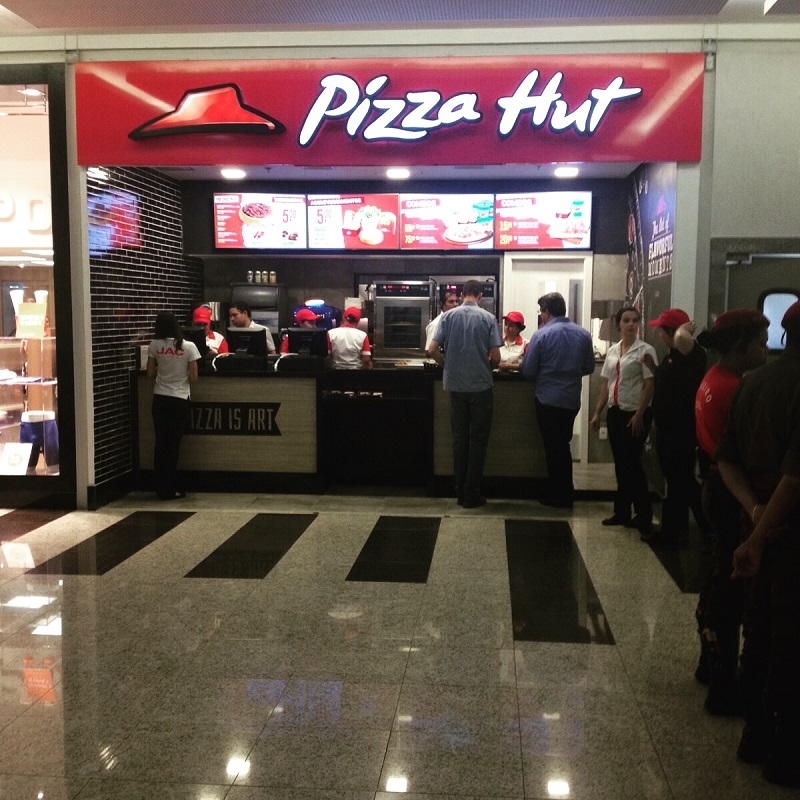Loja Pizza Hut, Shopping Itaú Power