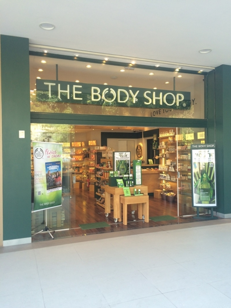 Loja The Body Shop - Rua Verbo Divino