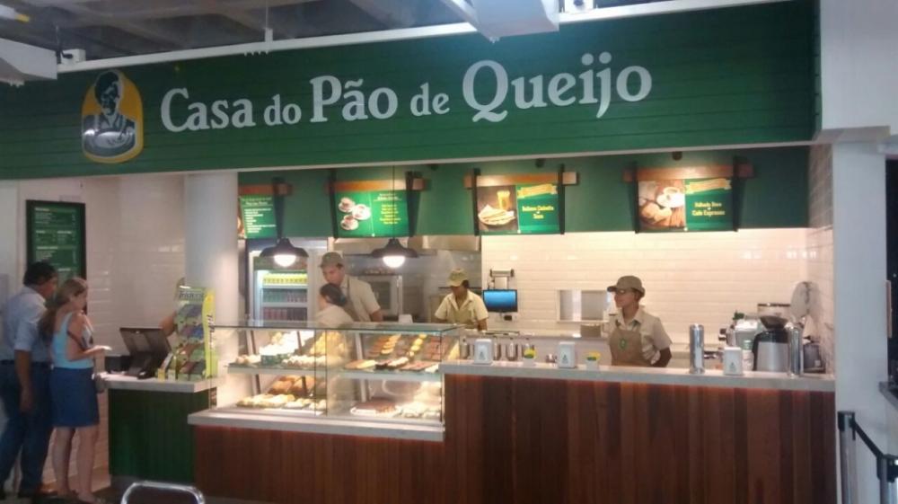 Casa do Pão de Queijo - Projac - Rede Globo - RJ.